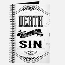 Death Rather Than Sin Journal