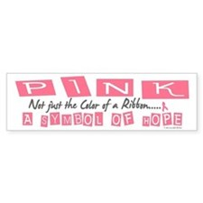 PINK Not Just A Color 2 Bumper Stickers