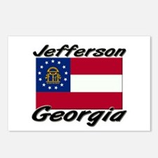 Jefferson Georgia Postcards (Package of 8)