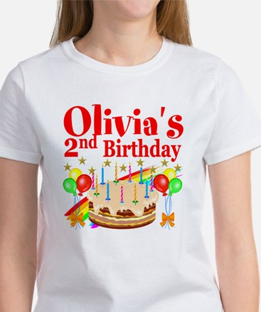 2ND BIRTHDAY Women's T-Shirt