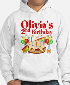 2ND BIRTHDAY Jumper Hoody