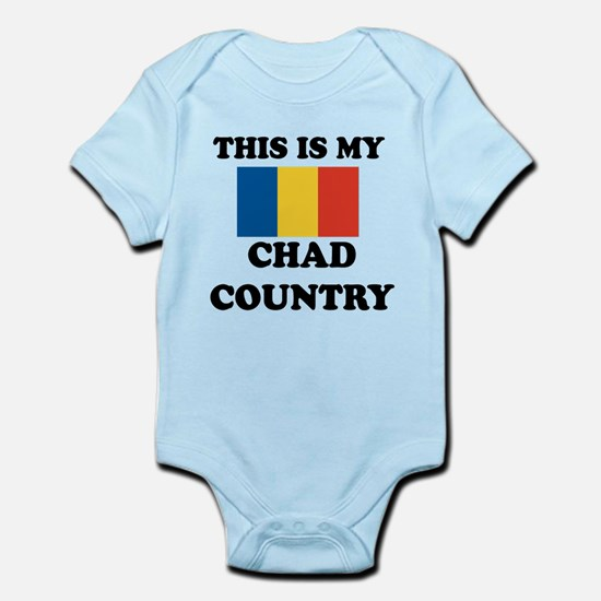 This Is My Chad Country Infant Bodysuit