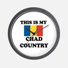 This Is My Chad Country Wall Clock
