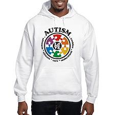 Cute Autism love Jumper Hoody