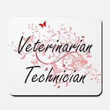 Veterinarian Technician Artistic Job Des Mousepad