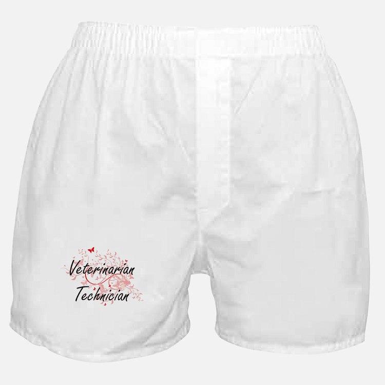 Veterinarian Technician Artistic Job Boxer Shorts