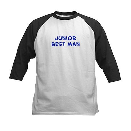 Junior Best Man Kids Baseball Jersey