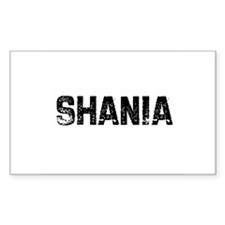 Shania Rectangle Decal