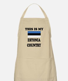 This Is My Estonia Country Apron