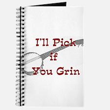 I Pick, You Grin Journal
