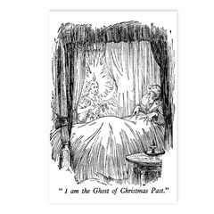 Christmas Past Postcards (Package of 8)