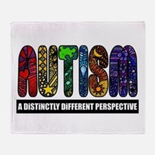 BEST Autism Awareness Throw Blanket