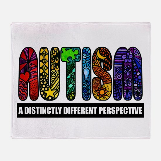 BEST Autism Awareness Throw Blanket