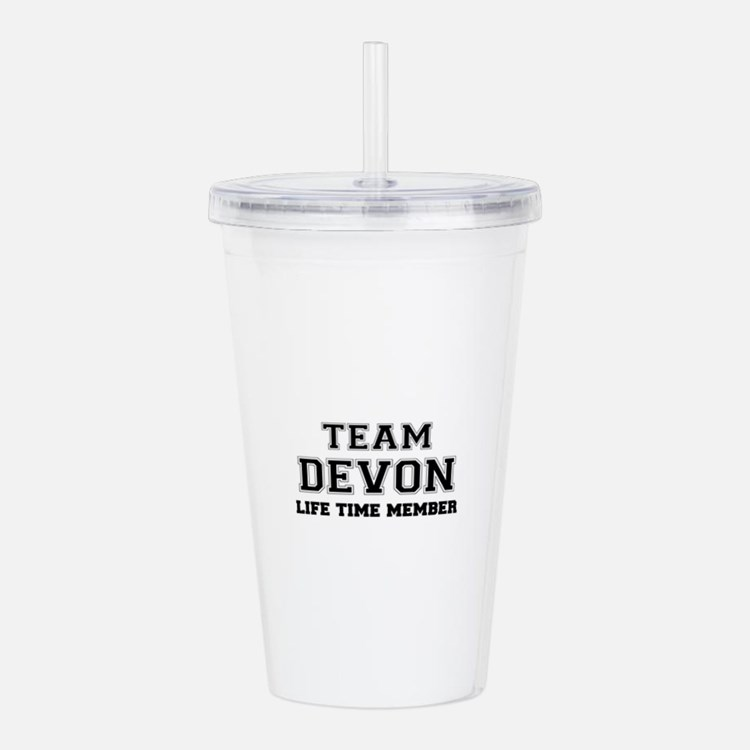 Team DEVON, life time Acrylic Double-wall Tumbler