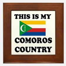 This Is My Comoros Country Framed Tile