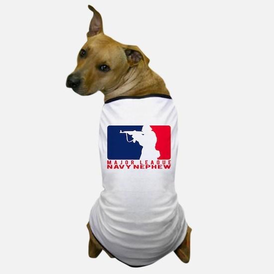 Major League Nephew 2 - NAVY Dog T-Shirt