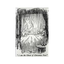 Christmas Past Rectangle Magnet (100 pack)