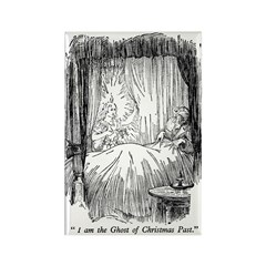 Christmas Past Rectangle Magnet (10 pack)