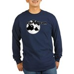 Earthican Long Sleeve Dark T-Shirt