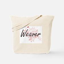 Weaver Artistic Job Design with Butterfli Tote Bag