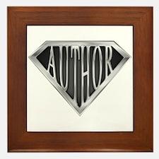 SuperAuthor(metal) Framed Tile