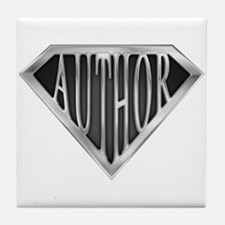 SuperAuthor(metal) Tile Coaster
