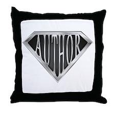 SuperAuthor(metal) Throw Pillow