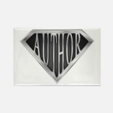 SuperAuthor(metal) Rectangle Magnet