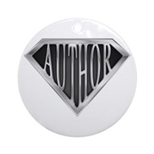SuperAuthor(metal) Ornament (Round)