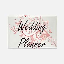 Wedding Planner Artistic Job Design with B Magnets