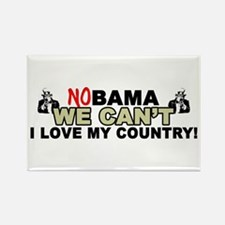 """""""No Obama, We Can't: I Love My Country!"""""""