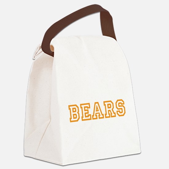 BEARS Canvas Lunch Bag