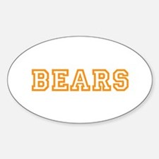 BEARS Sticker (Oval)