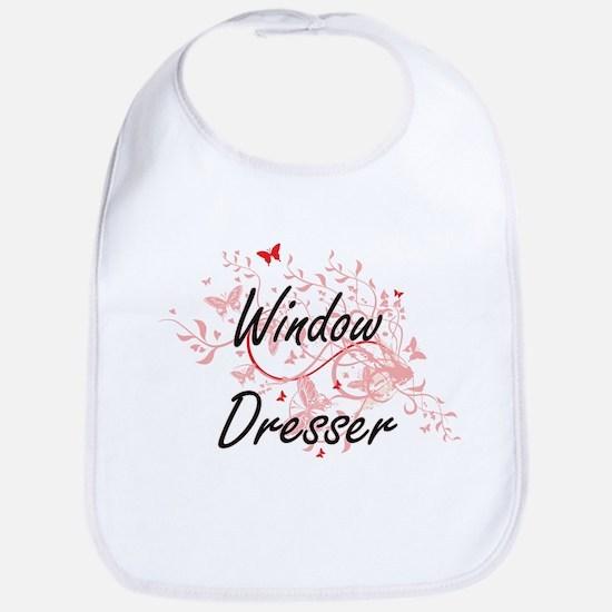Window Dresser Artistic Job Design with Butter Bib