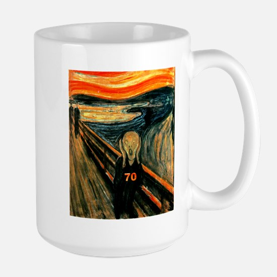Scream 70th Large Mug