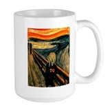 70th Large Mugs (15 oz)
