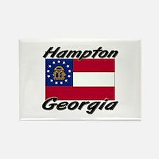 Hampton Georgia Rectangle Magnet