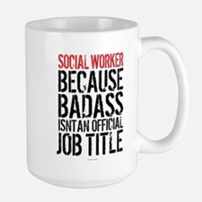 Badass Social Worker Mugs