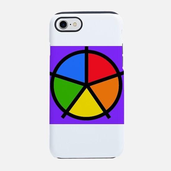 Fat Fetish Rainbow Wedges iPhone 8/7 Tough Case