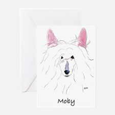 Moby Greeting Card