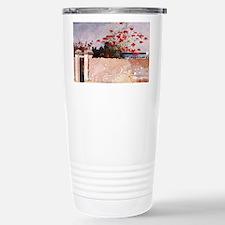 Unique Tropical wall Travel Mug