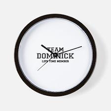 Team DOMINICK, life time member Wall Clock