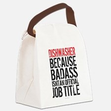 Badass Dishwasher Canvas Lunch Bag