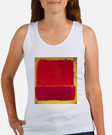 ROTHKO Yellow Box with Red Tank Top