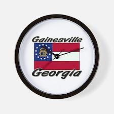 Gainesville Georgia Wall Clock