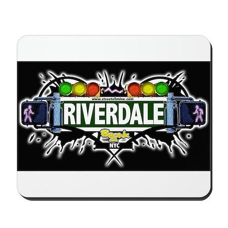 riverdale (Black) Mousepad