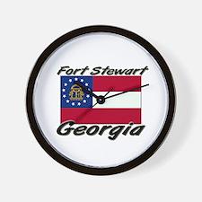 Fort Stewart Georgia Wall Clock