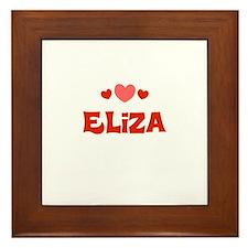 Eliza Framed Tile