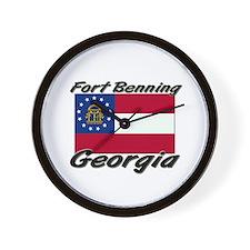 Fort Benning Georgia Wall Clock