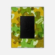 Autism Awareness Puzzles Camo Picture Frame